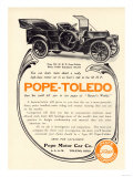 Ad for a Pope-Toledo Automobile, c.1907 Giclee Print
