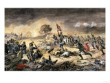 Confederate Charge against African-American Union Soldiers at the Battle of the Crater Giclee Print
