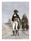 Napoleon Bonaparte at Cairo during His Invasion of Egypt, c.1798 Lmina gicle