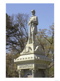 Monument to Civil War Soldiers from Michigan Who Died in the Battle of Shiloh Giclee Print