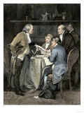 Committee Writing the Declaration of Independence, c.1776 Giclee Print
