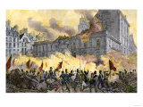 Rioters Attack the Royal Palace during the French Revolution Giclee Print