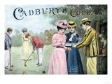 Advertisement for Cadbury's Cocoa, Showing a Croquet Game, c.1899 Giclée-Druck