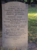 Boston Massacre Victims' Grave in the Old Granary Burying-Ground, Boston, Massachusetts Photographic Print