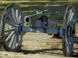 Revolutionary War French Cannon Called the Fox, Yorktown Battlefield, Virginia Photographic Print