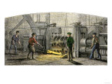 Vulcan Iron Works in Carondelet, Missouri, 19th Century Giclee Print