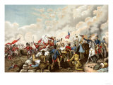 General Andrew Jackson's Victory over the British at New Orleans, c.1815 Premium Giclee Print