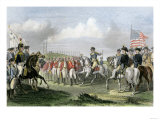 Surrender of the British Army under Lord Cornwallis at Yorktown, c.1781 Giclee Print