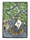 Isabella, the Settlement Founded by Columbus on Hispaniola, c.1493 Giclee Print