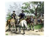 Angry Citizens Capturing Tax Collectors during the Whiskey Rebellion Giclee Print