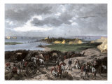 Siege of Charleston, South Carolina, by the British during the American Revolution Giclee Print