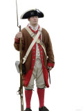American Soldier at a Reenactment on the Yorktown Battlefield, Virginia Photographic Print