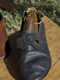 Shoe Hand-Made by a Cobbler Reenactor at Yorktown Battlefield, Virginia Photographic Print