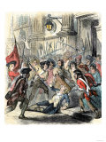 Death of Delaunay, c.1789 Giclee Print