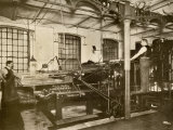 Book and Magazine Printing Press at Harper and Bros., New York City Photographic Print