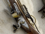 Flintlock Musket at a Reenactment on the Yorktown Battlefield, Virginia Photographic Print