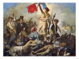 Liberty Leading the People Lámina giclée