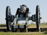 Revolutionary War French Cannon on a Redoubt at Yorktown Battlefield, Virginia Photographic Print