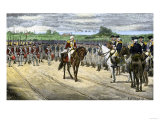 British Surrender at Yorktown, 1781, Effectively Ending the American Revolution Giclee Print