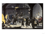 Variety of Tortures Used during the Spanish Inquisition Giclee Print