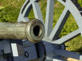 Close-Up of a Revolutionary War Cannon at Yorktown Battlefield, Virginia Photographic Print