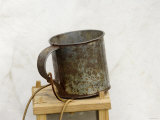 Soldier's Cup in Camp at a Reenactment on the Yorktown Battlefield, Virginia Photographic Print
