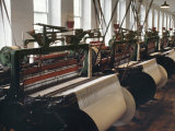 Power Looms Inside the Boott Cotton Mills, Lowell National Historical Park, Massachusetts Photographic Print
