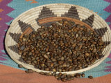 Pinon Nuts, an Important Food of Southwestern Native Americans, in an Indian Basket Photographic Print