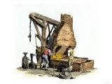 Iron Foundry, c.1803-1806 Giclee Print