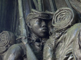Black Soldiers of the 54th Massachusetts Regiment, Memorial in Boston, Massachusetts Photographic Print