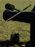 Artillery Tools, Revolutionary War Reenactment at Yorktown Battlefield, Virginia Photographic Print