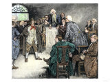 John Sevier Rescued from North Carolina Imprisonment during the American Revolution Giclee Print