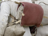 Knapsack of a French Soldier Reenactor at the Yorktown Battlefield, Virginia Photographic Print
