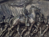 Robert Gould Shaw in Command of Black Troops of the 54th Massachusetts Regiment Photographie