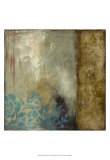 Teal Patina III Prints by Jennifer Goldberger