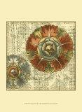 Vintage Rosette IV Poster