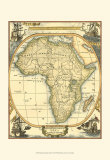 Nautical Map of Africa Print
