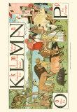 Noah's Alphabet IV Prints by Walter Crane