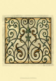 Decorative Gates I Posters
