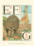 Noah&#39;s Alphabet II Prints by Walter Crane
