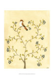 Berry Bird I Poster by Virginia A. Roper