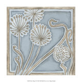 Silver Filigree II Giclee Print by Megan Meagher