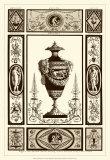 Sepia Pergolesi Urn II Posters by Michel Pergolesi