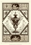 Sepia Pergolesi Urn I Art by Michel Pergolesi