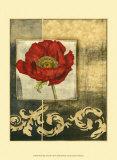 Poppy Poetry II Art by Jennifer Goldberger