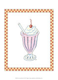 Ice Cream Parlor II Art by Virginia A. Roper