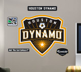 Houston Dynamos Logo- Fathead Decalque em parede