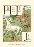 Noah's Alphabet III Lámina por Crane, Walter