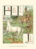 Noah&#39;s Alphabet III Print by Walter Crane