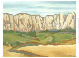 Western Vista VI Art by Chariklia Zarris